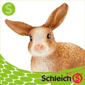 Schleich シュライヒ社フィギュア 13827 ウサギ Rabbit|soprano