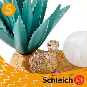 Schleich シュライヒ社フィギュア 42247 ダチョウの巣 だちょう 駝鳥 Ostrich Nest|soprano