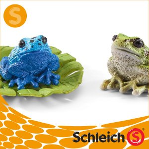 Schleich シュライヒ社フィギュア 42254 カエルセット Frog Set|soprano