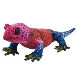 ●ワイルドグラフィ アガマトカゲは、独特な色や柄を再現した生地を使用した新しいタイプの爬虫類のぬいぐ...