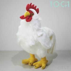 ●スタンディングバードにわとりは、2本足でしっかりと立つことが出来る鳥のぬいぐるみです。  柔らかな...