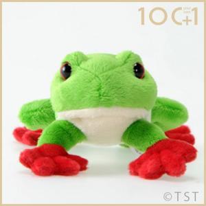 ぬいぐるみ101 アカメアマガエル カエル かえる 蛙 両生類のヌイグルミ