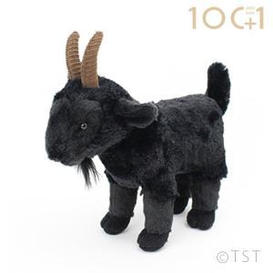 ●おしゃれでスタイリッシュな印象でインテリアのアクセントに最適な黒い山羊のヌイグルミです。  ヌイグ...
