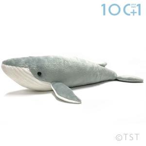 ●柔らかな素材と愛らしい表情に自然と親しみが湧いてくる、リアルでやさしいシロナガスクジラのヌイグルミ...