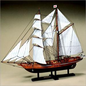 木製模型キット <ウッディジョー> 1/70 忍路丸 (おしょろまる)|soprano