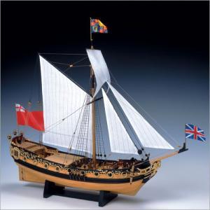 木製模型キット <ウッディジョー> 1/64 チャールズヨット|soprano