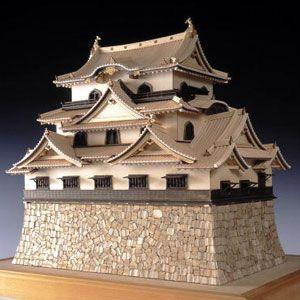 木製建築模型 <ウッディジョー> 1/80 彦根城|soprano