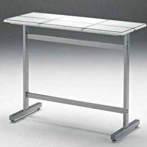 MDF+ガラス天板カウンターテーブル Float AY AT-145CT|sora-ichiban
