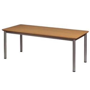 多目的テーブル 天板角型 W1800×D750×H700 GD-243 送料無料|sora-ichiban