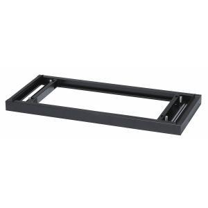 【アウトレット】【新品】 ホワイト色 書庫用ベース 上下横連結可能 W879×D400×H50(mm) オフィス家具|sora-ichiban