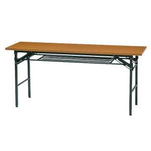 会議用テーブル 幅1500 奥行600 高700 会議テーブル 折りたたみテーブル GD-689-O...