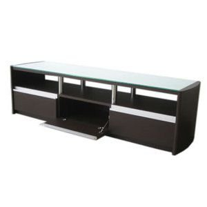 46インチ 液晶テレビ対応 強化ガラス製テレビボード ブラウン色 幅1200×奥行400×高410 エイアイエス HI-150 sora-ichiban