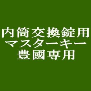 豊國工業 内筒交換錠ロッカー専用マスターキー|sora-ichiban