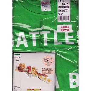 ラ ディ ダ ディ Tシャツ Lサイズ 付限定盤 / バトルス (CD)|sora3