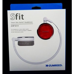 ZUMREED ズムリード Sfit ZHP-014 Smart・Slim・Stylish Headphones 【Pink ピンク】【訳あり品】|sora3