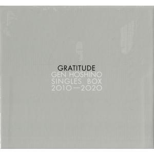 "Gen Hoshino Singles Box ""GRATITUDE"" (特典Blu-ray Disc付) / 星野源 (CD、DVD)|sora3"