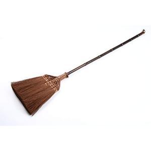 矢車印 棕櫚鬼毛長柄箒七つ玉 しゅろ 棕櫚 ほうき 箒 和室 畳 座敷箒 室内 フローリング sorachip3