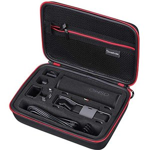 Smatree DJI Osmo Pocket ケース 充電ボックス フィルター コントローラーホイールなどのアクセサリー収納可能 キャリン|sorachip3