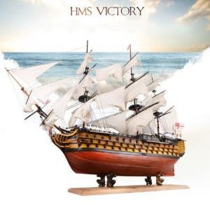 木製パズル模型木製帆船5組み立てキット英国海軍ヴィクトリー