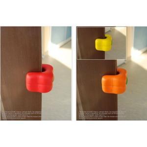 ドアクッション・パプリカ ◆ Red・Orange・Yellow ◆|soramame-system