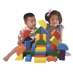 ウレタン製ブロック「ぴたブロック」 52Pcs 大きくて柔らかい!|soramame-system
