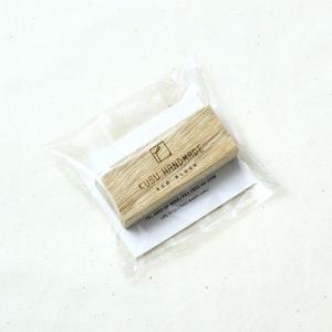 楠の端材で作った衣類の防虫アロマブロック 1個 soranew