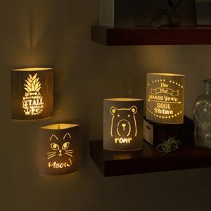 LEDランプ 可愛い 壁掛け|soranew
