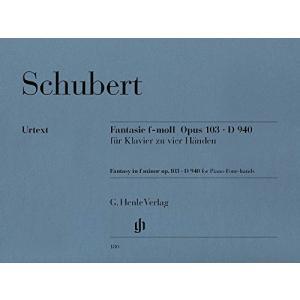 Fantasie f-moll op. 103 D 940: fuer Klavier zu vier Haenden|soranoshouten