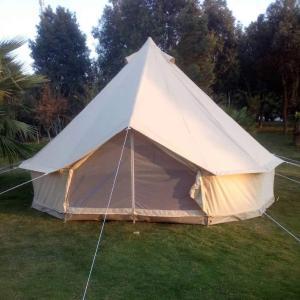 贅沢な防水綿のキャンバスの家族のキャンプテントキャンプ場のホテルのテントBell Tent|soranoshouten