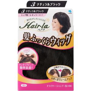ヘアラ 髪ふっくらウィッグ 【ナチュラルブラック】(部分ウィッグ)|soranoshouten