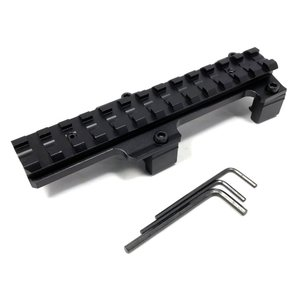 CNC加工 MP5 / G3 アルミ製 マウントベース サバゲー 装備 soranoshouten