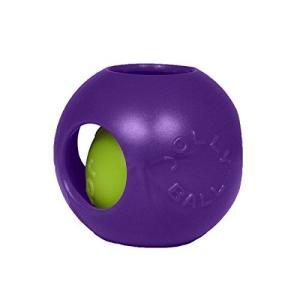(ジョリーペッツ) Jolly Pets 馬・犬用 ティーザー ジョリーボール おもちゃ ドッグトイ ホーストイ ペット用 (4.5インチ(約11.4cm)) (パープル) soranoshouten