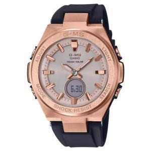 Ladies ' Casio Baby - G g-msブラックとrose-tone腕時計msgs200g-1?a|soranoshouten