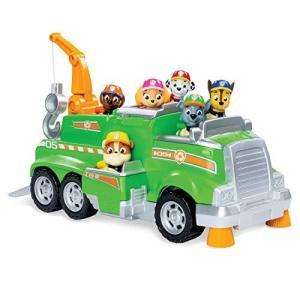 パウパトロール おもちゃ ロッキー トータルチームレスキュー リサイクル トラック soranoshouten