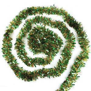 CCINEE メッキモール ガーランド 10m クリスマス 誕生日 部屋 飾り 新年 キラキラモール クリスマスツリー ガーデン装飾籐 藤蔓 christmas tinsel garla soranoshouten