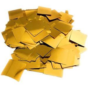 紙吹雪 キラキラ コンフェッティ 紙吹雪 100g(約7200枚)ゴールド (2cm 正方形) soranoshouten