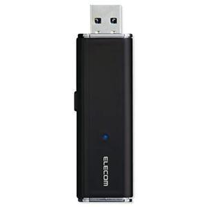 エレコム 外付け ポータブルSSD 500GB USB3.2(Gen1) PS4(メーカー動作確認済) スライド式 直挿し ブラック ESD-EMN0500GBK|soranoshouten