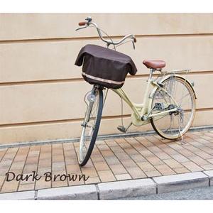 エクストラワイドサイズバスケットカバー 自転車用前カゴカバー リボン付きフロント用バスケットカバー|sorayu|03