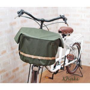 エクストラワイドサイズバスケットカバー 自転車用前カゴカバー リボン付きフロント用バスケットカバー|sorayu|04