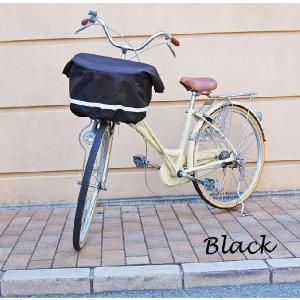 エクストラワイドサイズバスケットカバー 自転車用前カゴカバー リボン付きフロント用バスケットカバー|sorayu|05