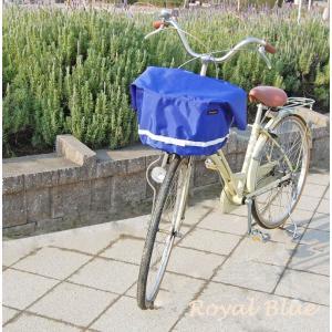 エクストラワイドサイズバスケットカバー 自転車用前カゴカバー リボン付きフロント用バスケットカバー|sorayu|06