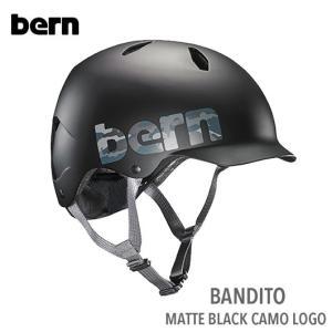 (Bern)bandito(バンディート)MATTE BLACK CAMO LOGO|sore