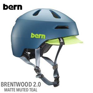 (Bern)バーン BRENTWOOD 2.0 (ブレントウッド2.0) MATTE MUTED TEAL|sore