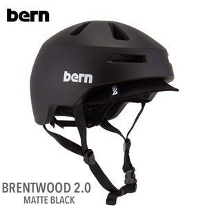 (Bern)バーン BRENTWOOD 2.0 (ブレントウッド2.0) MATTE BLACK|sore
