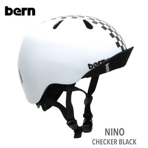 (Bern)nino(ニーノ)CHECKER-BLACK|sore
