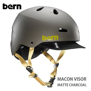 (Bern) バーン ヘルメット MACON バイザー /Matte Charcoal|sore