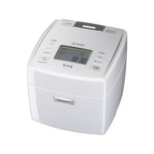 三菱電機 IH炊飯器 炭炊釜 NJ-VE109-W 1.0L/5.5合 送料無料