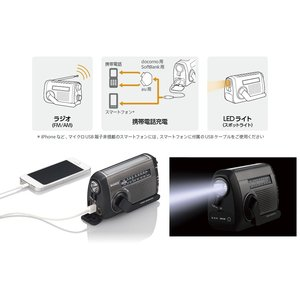 在庫あり SONY ICF-B99 太陽光充電対応手回し充電ラジオ 送料無料|sorekudasai2012|03