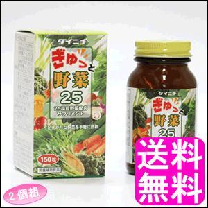 送料無料 ポイント消化 ぎゅっと野菜25 【2個組】|soryomuryotekisyoten