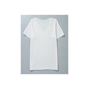 ゲルマニウム インナー 肌着 女性用 レディース 半袖 あったか 保温 冷え性対策 綿100% 日本製|soseikan-ya